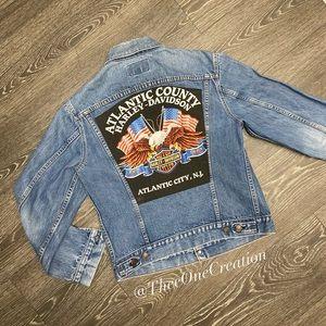 Vintage Levi's Harley denim jacket